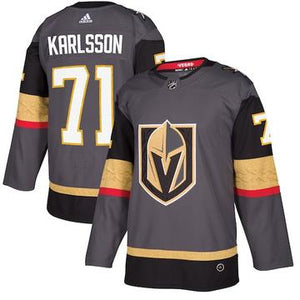 the best attitude 00267 b8a17 WILLIAM KARLSSON - VEGAS GOLDEN KNIGHTS HOME REPLICA JERSEY