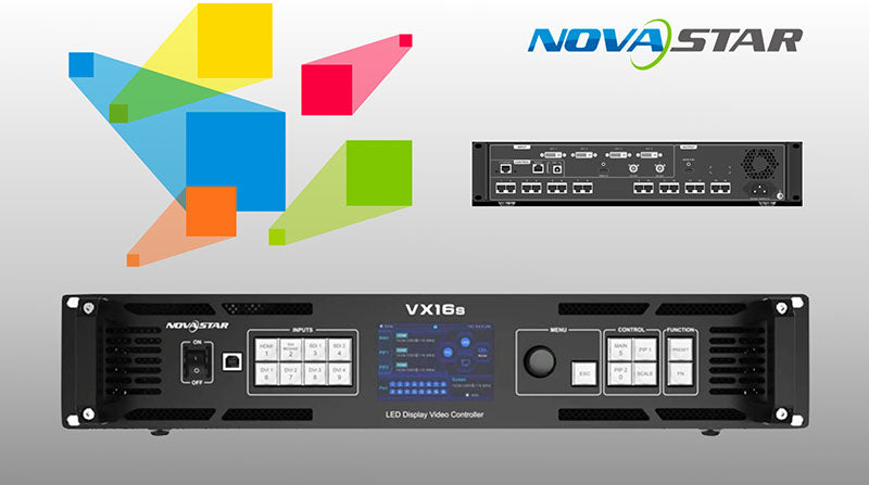 NOVASTAR VX16S and NOVAPRO UHD JR