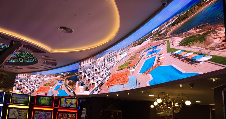 Las Vegas casino small pitch LED display
