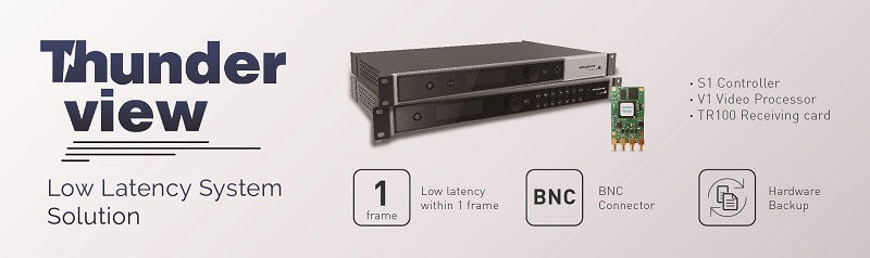 Novastar Thunderview Low Latency System Solution