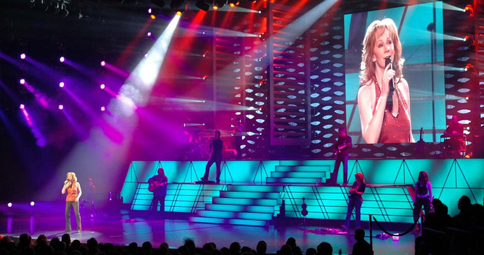 Reba McEntire Concert LED Display Screen