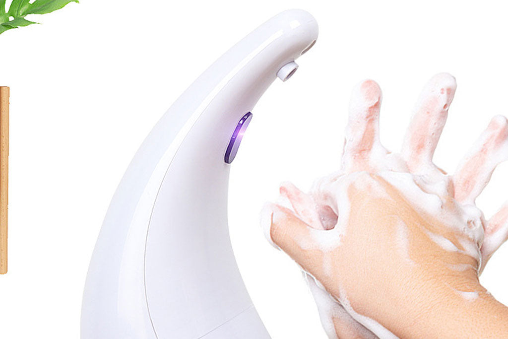 Automatic sensor foam hand wash