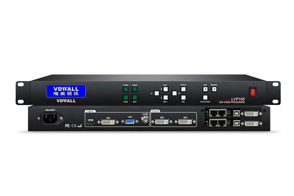 VDWall LED Display Controller LVP100 LED Video Processor