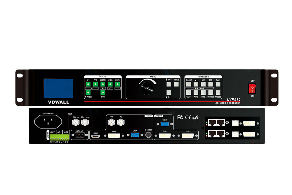 VDWall LED Display Controller LVP515 LED Video Processor