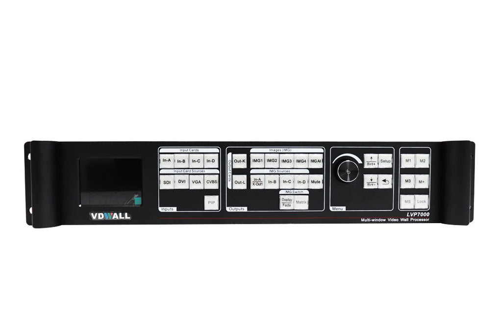 VDWall LVP7000 Series LED Display Controller LVP7021  LVP7042 LED Video Processor