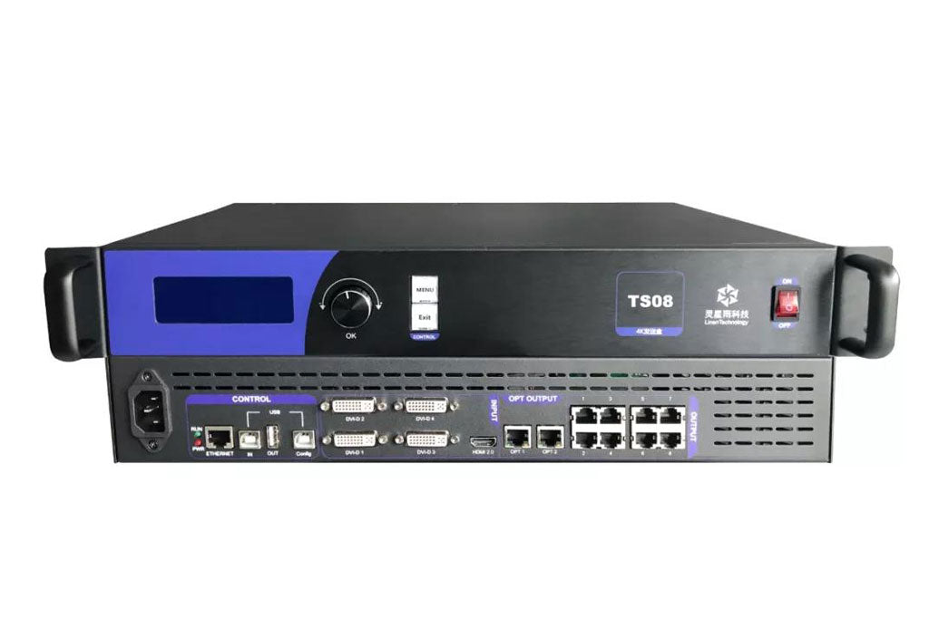 Linsn TS08 TS12 TS16 LED Sending Box LED Video Wall Controller