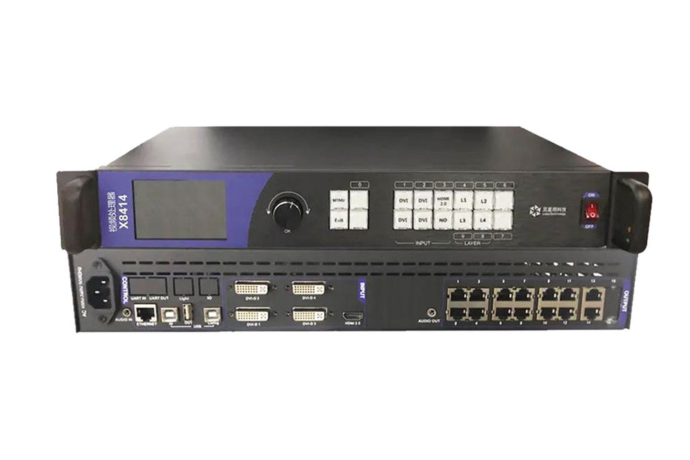 Linsn X8414 2-in-1 4-image LED Video Processor