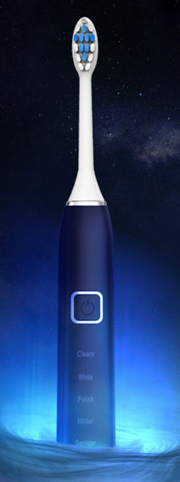 Magnetic Floating Ultrasonic Electric Toothbrush,induction charging waterproof whitening electric toothbrush
