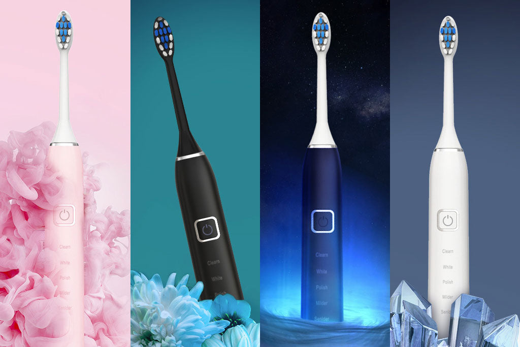 Magnetic Floating Ultrasonic Electric Toothbrush