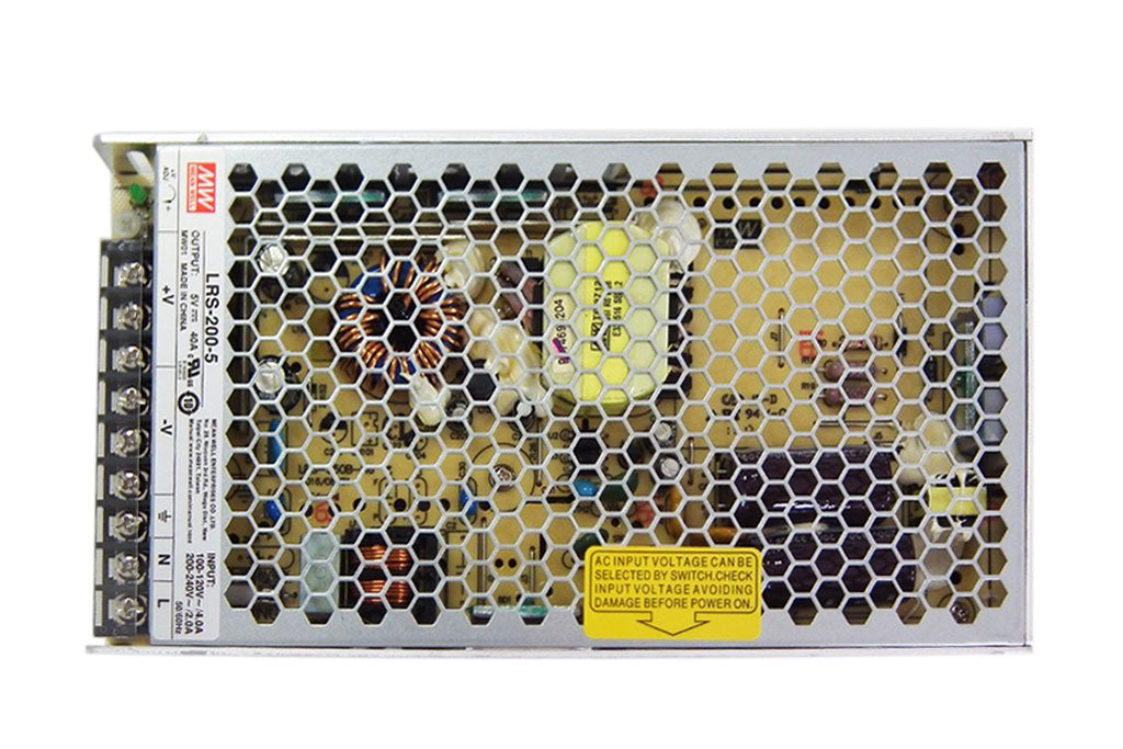 Meanwell LRS-200 Series LRS-200-5 LRS-200-12 LED Displays Power Supply