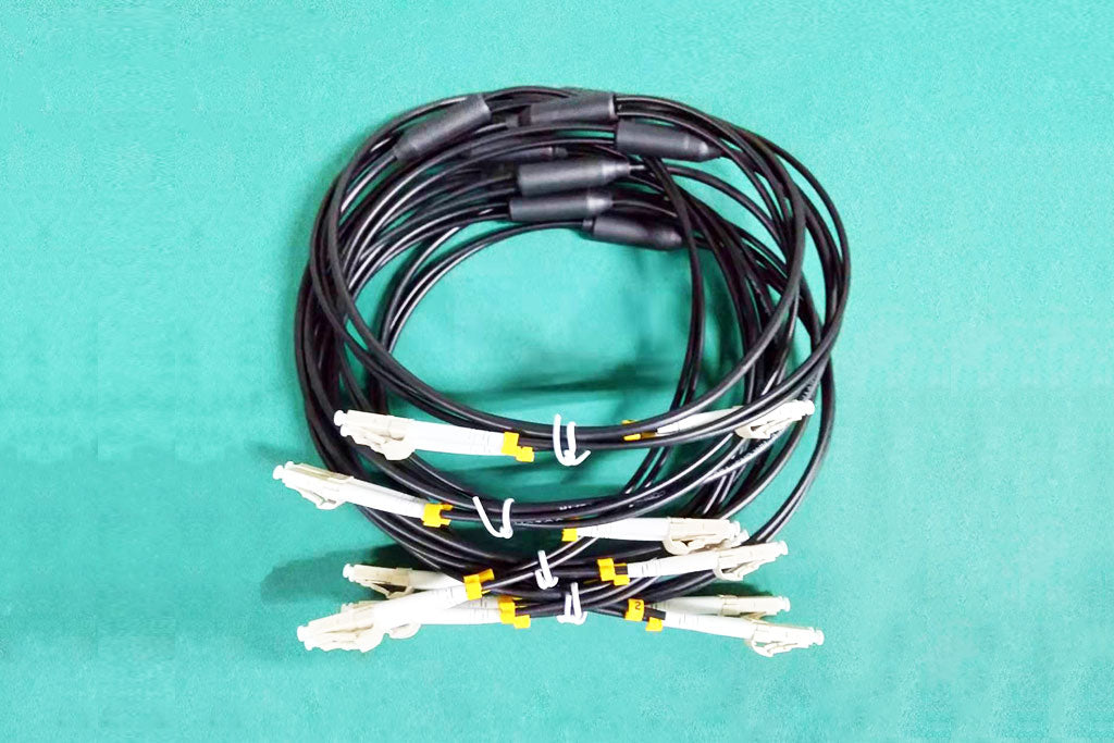 Single Mode Multimode Dual-Core Fiber Optic Connection Cable LC-LC Cable 100m