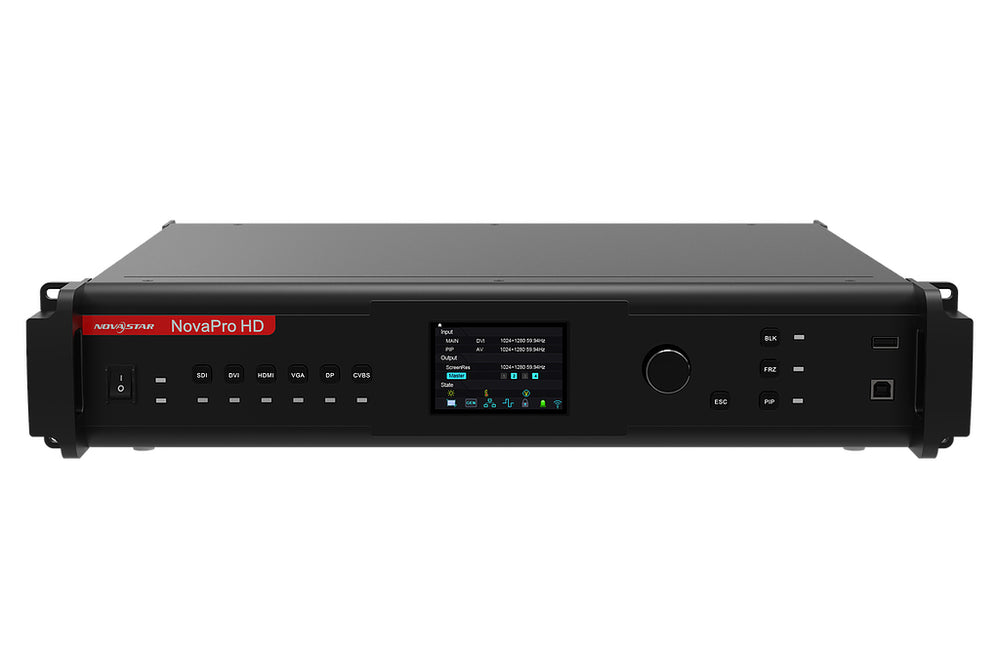 NovaPro HD LED Video Processor front