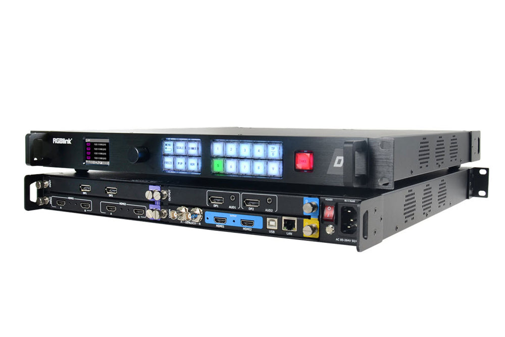 RGBlink D4 4K HDR Scaler & Switcher LED Video Processor