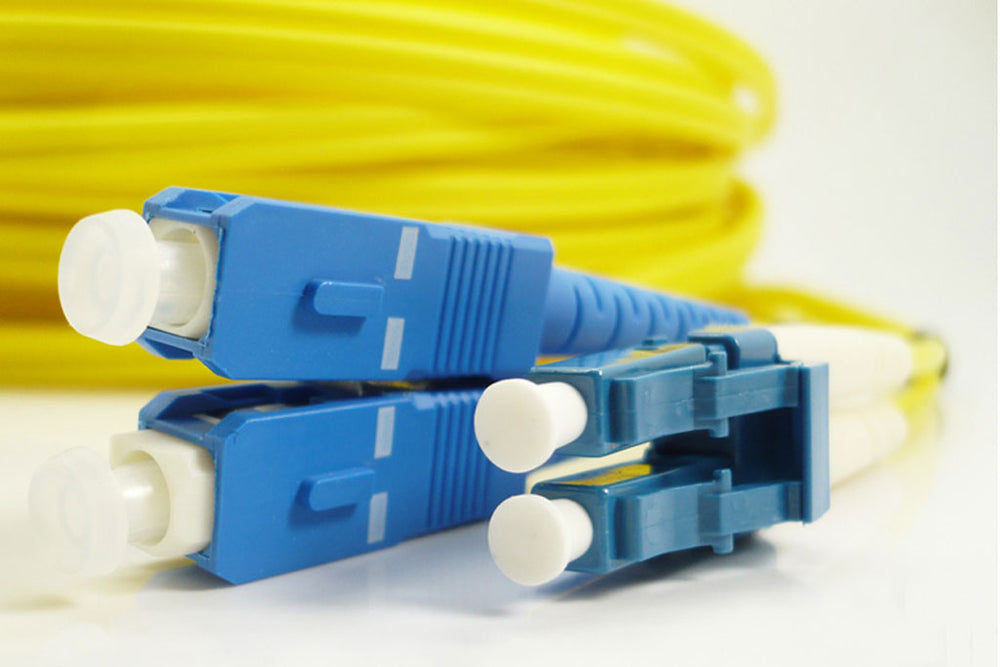 Single Mode Dual-Core Fiber Optic Connection Cable