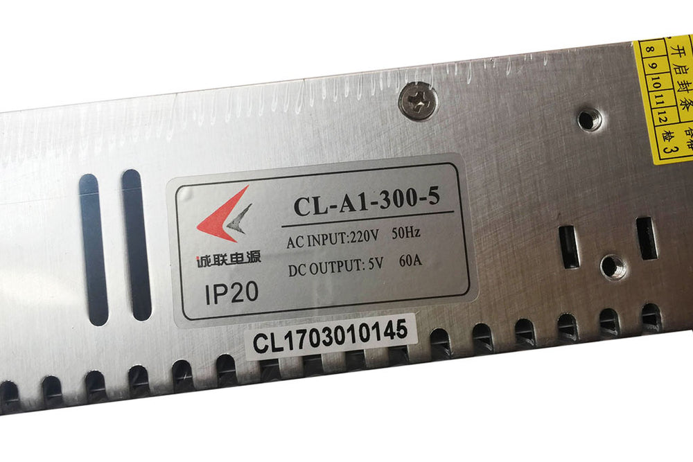 CL LED Displays Power Supply A1-300-5 5V60A Standard Size LED Power Supply