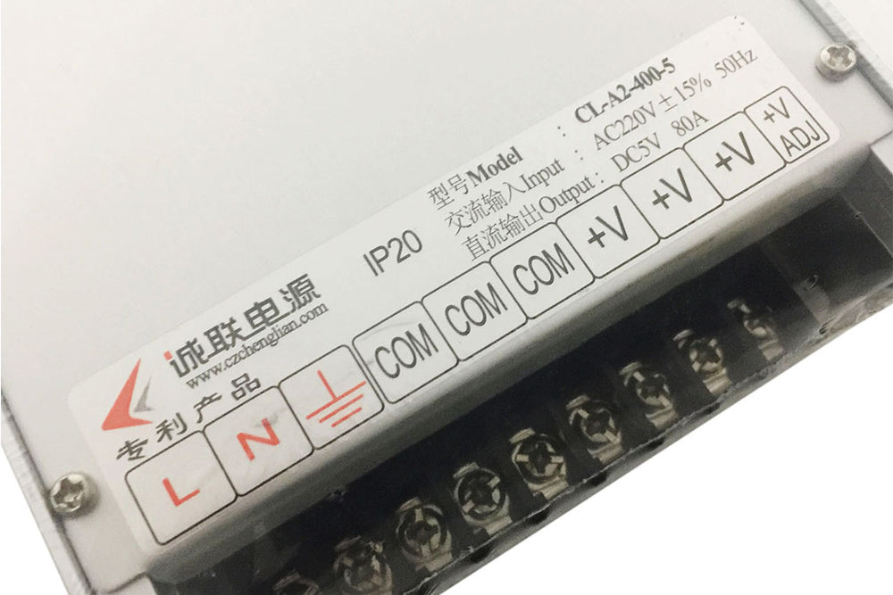 CL LED Displays Power Supply A2-400-5 5V80A Standard Size LED Power Supply