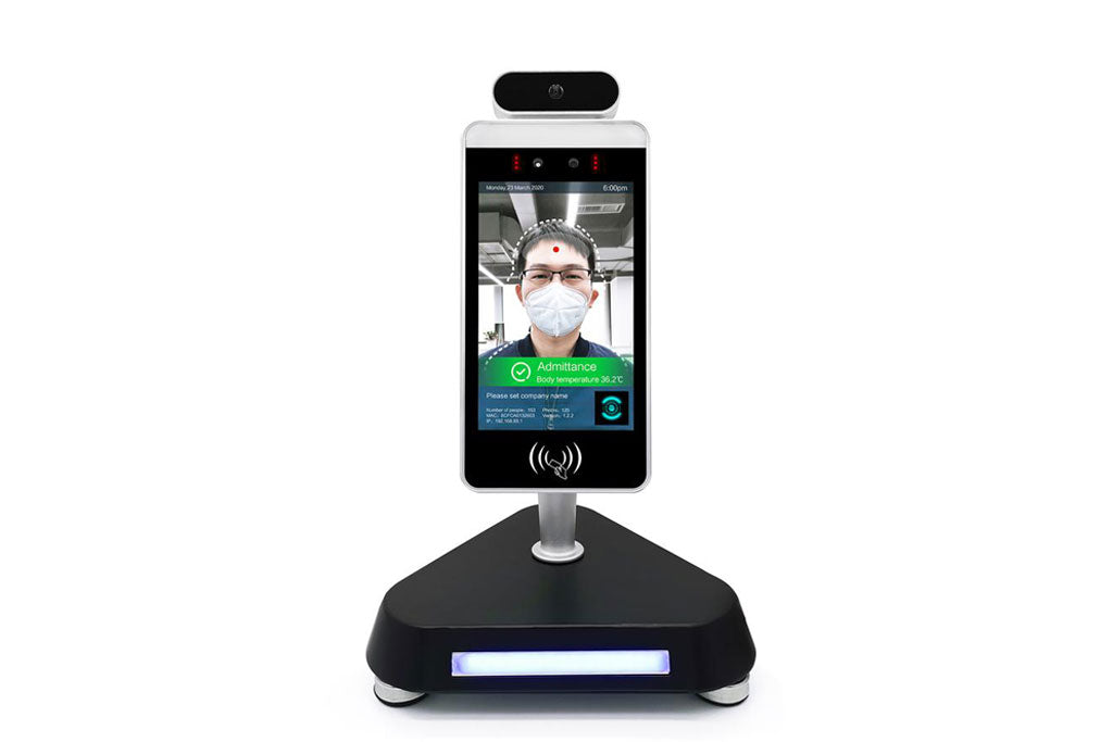 face recognition thermometer terminal