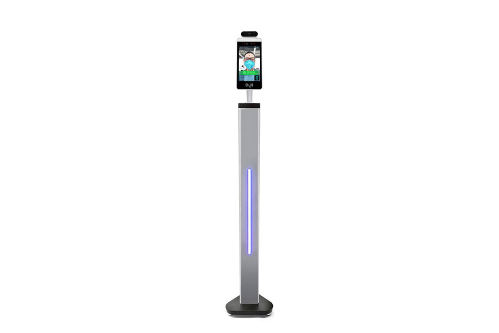 Free Standing Post Body temperature kiosk