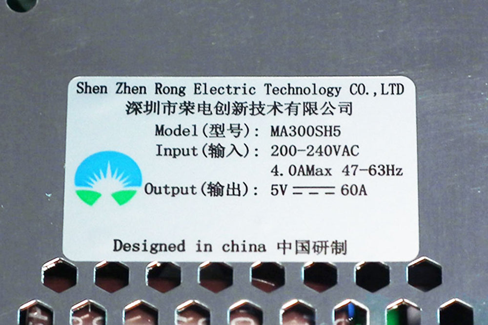 Rong-Electric MA300SH5 LED Displays Power Supply