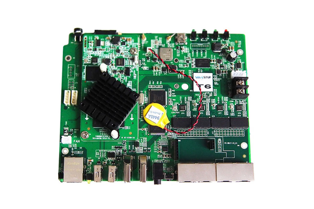T6 LED Screen Multimedia Player Controller Card