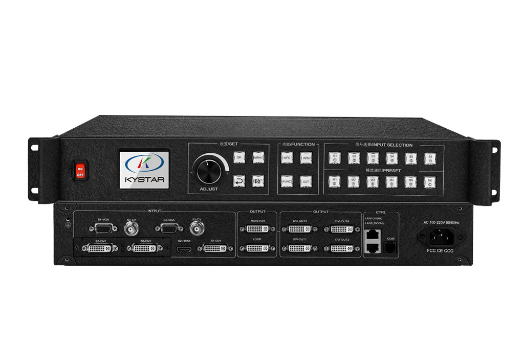 Kystar U4/KS938|KS928 LED Video Processor