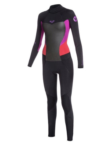 Roxy Women's Full Wetsuit Purple Syncro 3/2mm