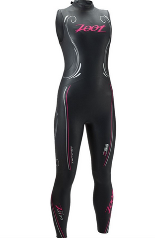 Zoot Women's Triathlon Wetsuit Tall Z-Force Sleeveless