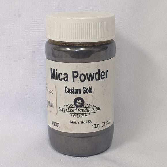 Custom Gold Mica Powder