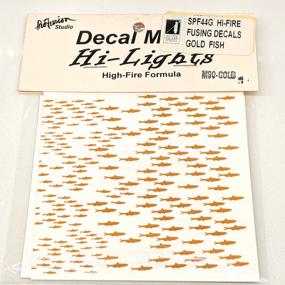 Gold Fish Decals Hi-Fire