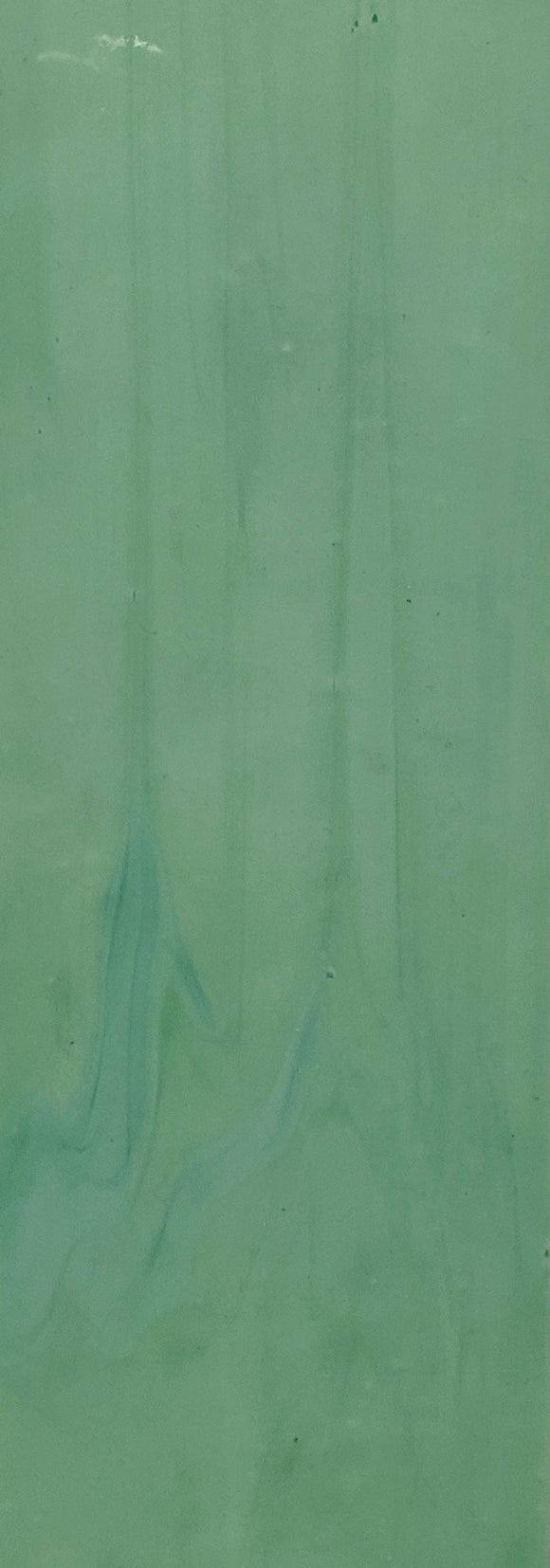 Armstrong Glass Company 31SO Mint Green Opalescent Stained Glass Glass Sheet