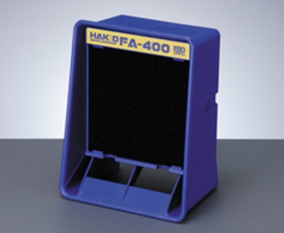This Hakko Fume & Smoke Absorber is a countertop smoke and fume trap is a must have when soldering in low ventilated areas. Simply run the smoke and fume absorber near your work space to keep harmful chemicals out of the air while you work. Fumes are drawn through particle absorbing charcoal activated filters. Replaceable filters change easily. The smoke and fume absorber can be used vertically or horizontally.