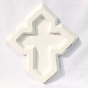 Slumpy's Plain Cross Fuser Mold