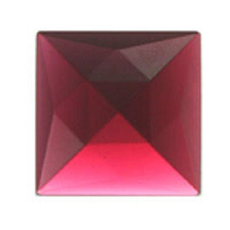 Square Faceted Selenium Jewel