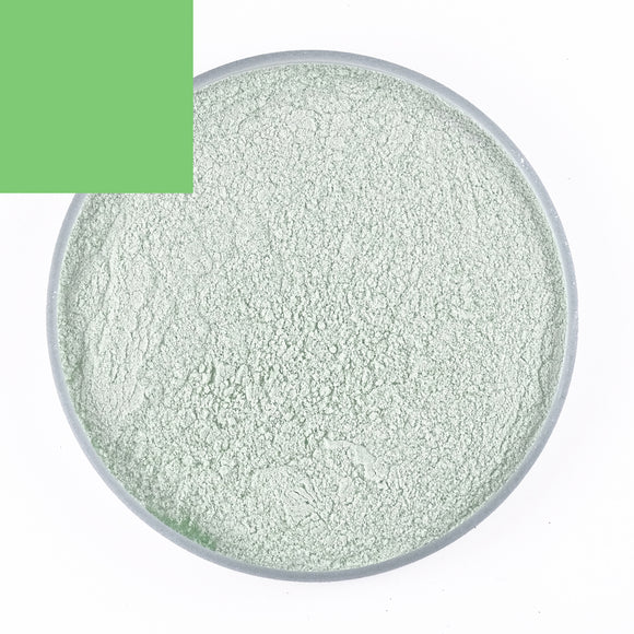 Light Green Bubble Powder