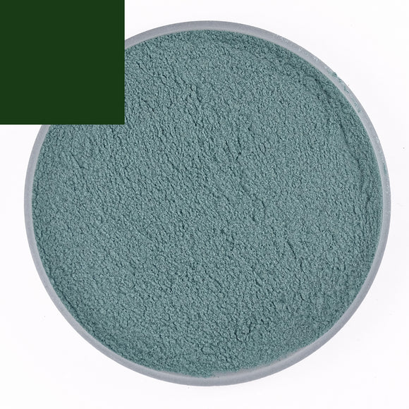 Dark Green Bubble Powder