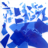 Opaque Dark Blue Confetti