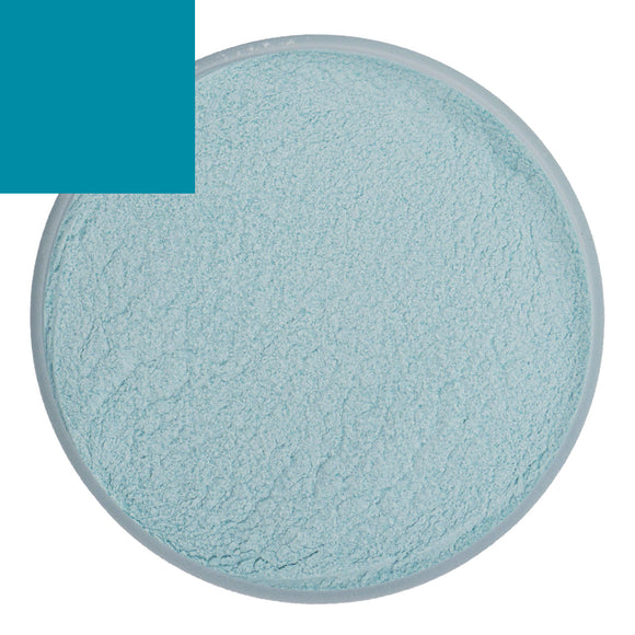 Opaque Aquamarine Bubble Powder