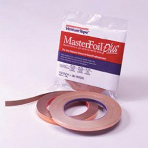 Venture Tape Copper Back Foil 1/2 inch x 36 yards 1.0 mil (.025mm) thick