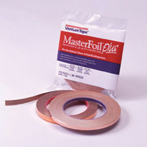 Venture Tape Copper Back Foil 1/2