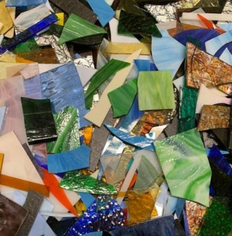 Mosaic Art Glass Pieces - Standard