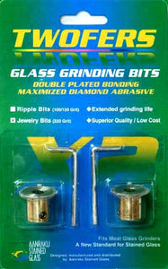 Twofers Jewelry Glass Grinding Bits - 220 Grit