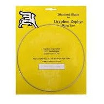 Super 80 Grit Blade for Gryphon Zephyr Ring Saw