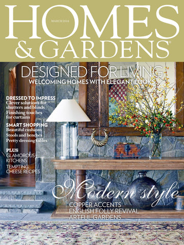 Homes and Gardens, March 2014, Nursery Design in Green