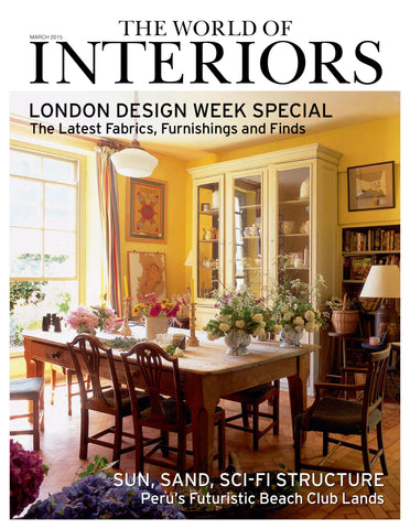 World of Interiors, March 2015, Cushions