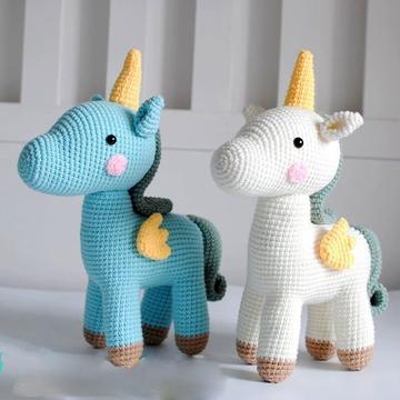 Unique Crochet Unicorn