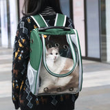 Pet Carriers Backpack Breathable Astronaut Pet Cat Dog Puppy Carrier - HeyHouse