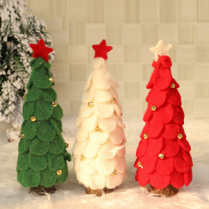 Wool Christmas Tree Ornaments - HeyHouse