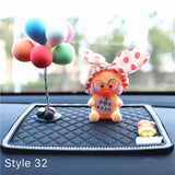Car Decoration Ornaments Lalafanfan Cafe Mimi Duck Car Sit Doll - HeyHouse
