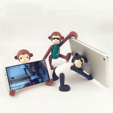 3 Pcs Cute Creative Monkey Desktop Kitten Mobile Phone Holder - HeyHouse