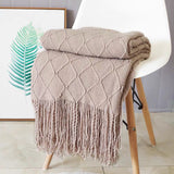 Knitted Throw Thread Sofa Blanket - HeyHouse